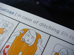 In case of ditching