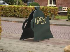 The tea museum is open