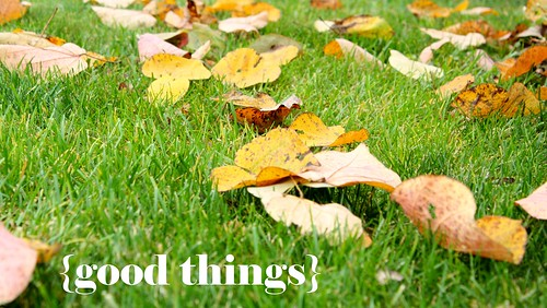 leaves good things