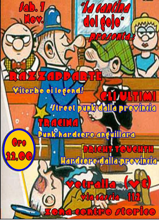 7 nov., live a Vetralla (VT)