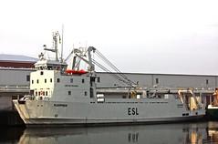 "MV ""SLEIPNER"" mooring in Cuxhaven / On offer by Eagle Shipping Ltd. for 2.900.000  (cuxclipper ) Tags: ship forsale vessel schiff supply cuxhaven zuverkaufen sleipner divesupportvessel versorger imo7825552 multipupose"