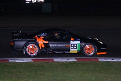 Honda NSX (ComfortablyNumb...) Tags: night honda motorracing nsx motorsport autosport brandshatch the intothenight britcar hcar into