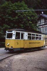 wasserfall tram waserfall kirnitzschtalbahn strasenbahn lichtenhainer
