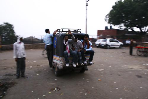 Coucou rickshaw