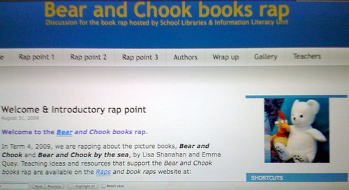 Bear and Chook books rap