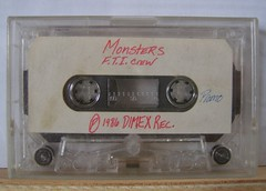 Monsters FTI (libraryofvinyl) Tags: history boston hiphop tapes leccoslemma