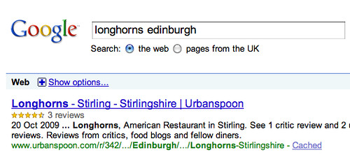 Rich Snippets in Google UK