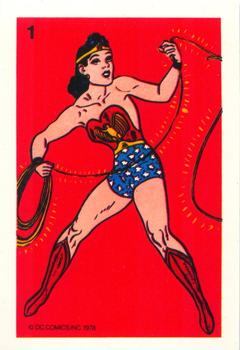 1978 Wonder Woman Whitman Cards 1