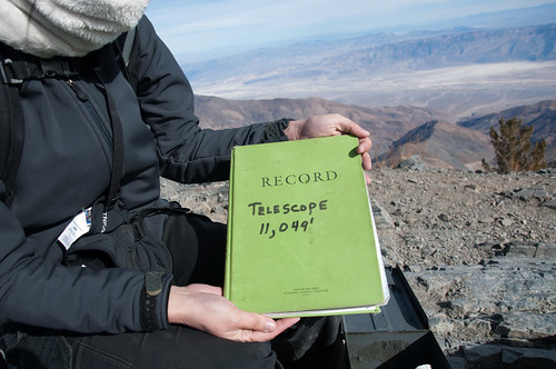 Registering to the record book