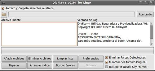 Aplicación Divfix++
