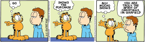 Garfield: Lost in Translation, December 2, 2009