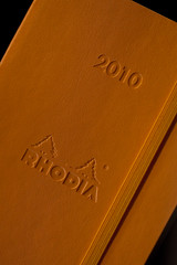 Ed's Rhodia (Luke Gamon) Tags: notebook logo book is symbol diary 28l edouard 2010 rhodia 100mmmacro hybridis canon100mm28l