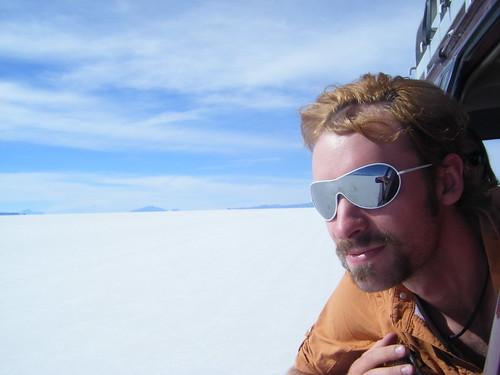 Jeff in Salar de Uyuni