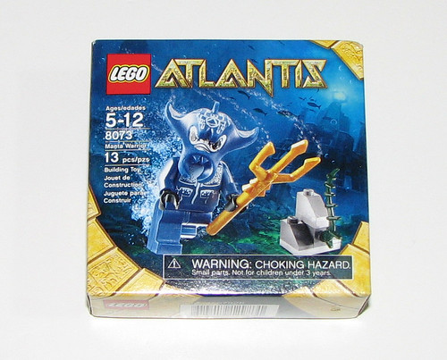 2010 LEGO 8073 Atlantis - Manta Warrior