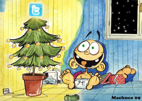 felicitación navidad twitter