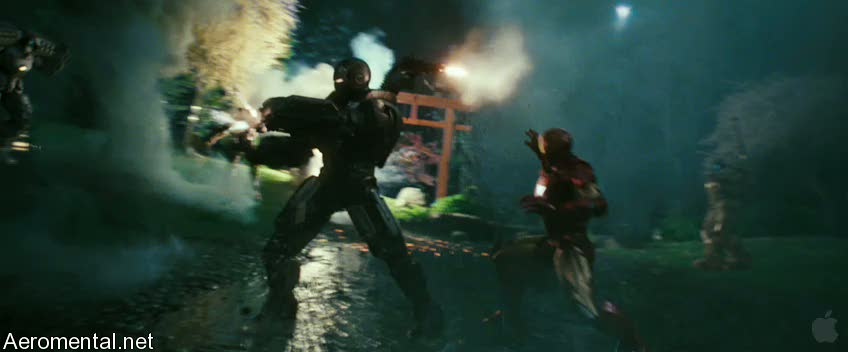 Iron Man 2 Trailer 2 battle robots