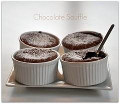 Just came right out of the oven.... (Violet Kashi) Tags: food dessert nikon chocolate souffle kashi d90