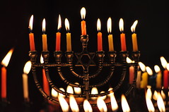 Last night of Hannukah (drurydrama (Len Radin)) Tags: candles chanukah festivaloflights bethisrael menorah chanukka hannukah hanakkah top20jewish