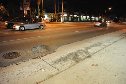 Pothole Venice Beach