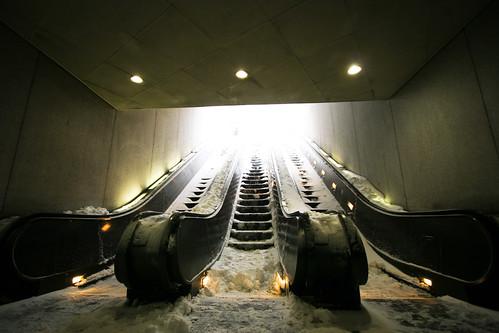 South Smithsonian Escalators