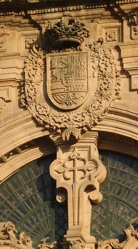 Blason Catedral de Santiago por Amio Cajander..
