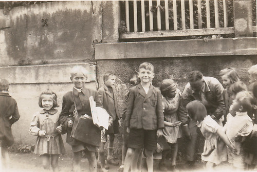 Street kids, Poland, summer 1946