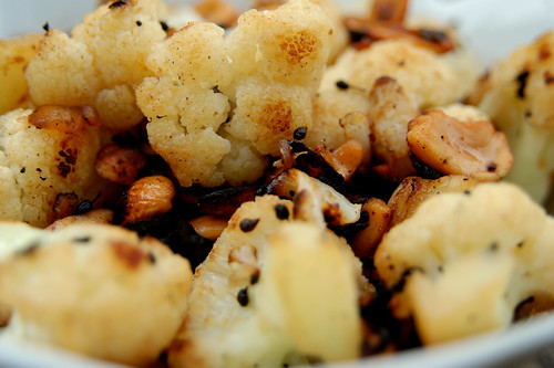 Cauliflower with Anise and Cashews