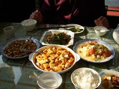 Food at West Lake in Hangzhou