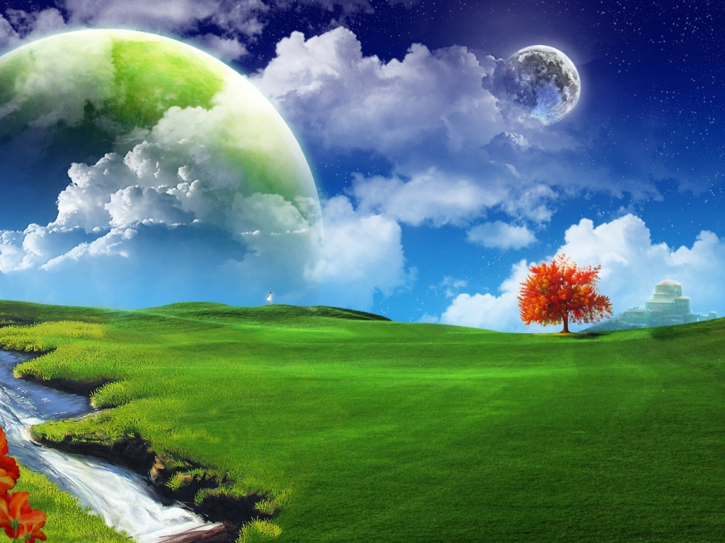 Beautiful Desktop Pictures Abstract fantasy land desktop