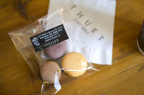 Macaroons at Atelier Thuet