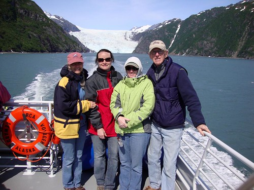 Alaska JJ and Marth RV Seward June 20094 Glacier boat ride_