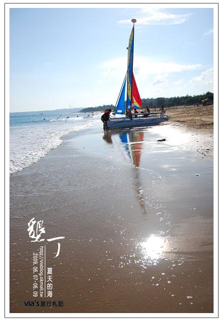 【墾丁景點】來渡假吧~墾丁夏都飯店海灘實景32