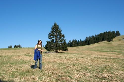 KC in a Field