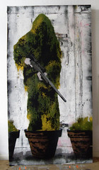 original sniper..... (l.e.t.) Tags: street streetart pasteup art print poster army graffiti design riot artwork stencil sticker war screenprint paint artist gallery contemporary kunst wheatpaste police exhibition pop spray camo popart camouflage silkscreen artshow dsseldorf