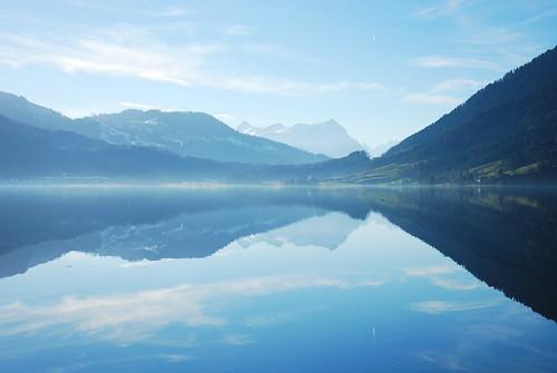 フリー画像| 自然風景| 湖の風景| 青色/ブルー|        フリー素材|