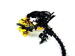 Get away from Her... (Crimson Wolf) Tags: power lego alien ripley aliens queen loader queenbitchbydavidbowie