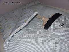 Baby Bag for Pol- Sac per en Pol (Zigazaga) Tags: baby kids cotton blanket babybag hechoamano algodn sacodedormir zigazaga fetam