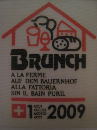 August 1 Brunch, Switzerland