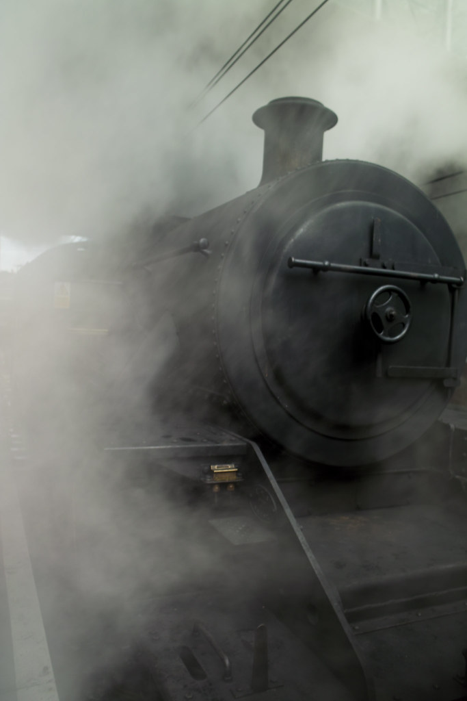 Old Steam Train - The Kingston Special