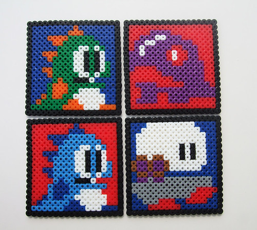 Bubble Bobble Coasters