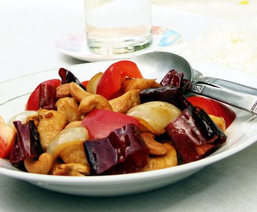 עוף עם אגוזי קשיו