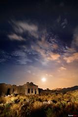 Lorca desde las minas (Carlos J. Teruel) Tags: longexposure espaa nikon nightshot paisaje murcia nocturna nocturnas 2009 d300 tokina1116 xaviersam