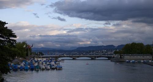 river in Zurich