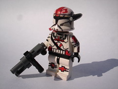 RC-1186 (The Sargeant of Randomness (no longer active)) Tags: trooper star marine republic lego space wars sharpie clone commando dc17