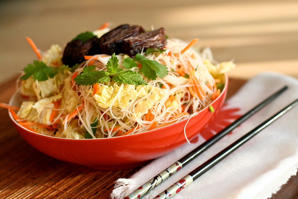 Tom's Favorite Vietnamese Noodle Salad