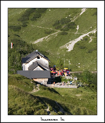 Landsberger Htte (Cold Mountain) Tags: mountains austria cabin hut tannheim landsberger