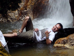 Kemensah Falls - 08 Horng posing