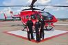 Memorial Hermann Life Flight Crew (Max Tribolet) Tags: hospital texas houston helicopter medic mh eurocopter helipad medicalcenter lifeflight ec145 hospitalhelipad medicalhelicopter memorialherman n453mh n455mh medialsupport