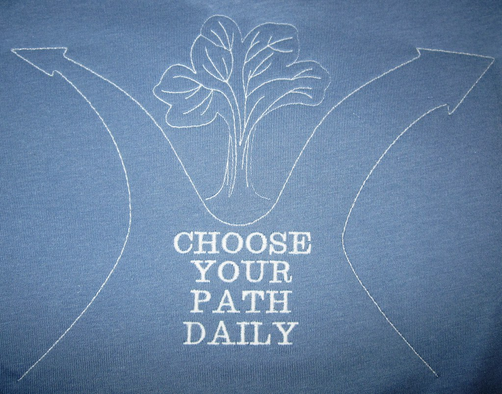 Embroidery - Choose Your Path