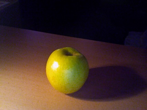 Apple from the bistro at work - free